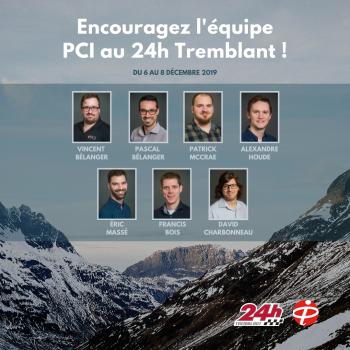 L'équipe PCI au 24h Tremblant