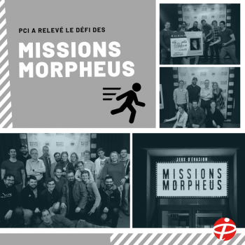 PCI aux Missions Morpheus