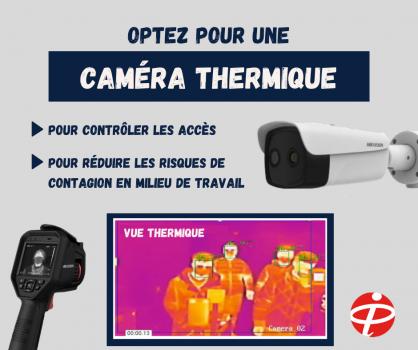 Caméra thermique - PCI Automatisation Industrielle