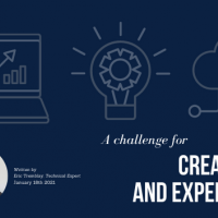 A challenge for creativity and experience