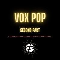 Vox pop (second part)