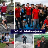 Défi 12 heures - Triathlon Québec