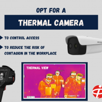 Opt for a thermal camera